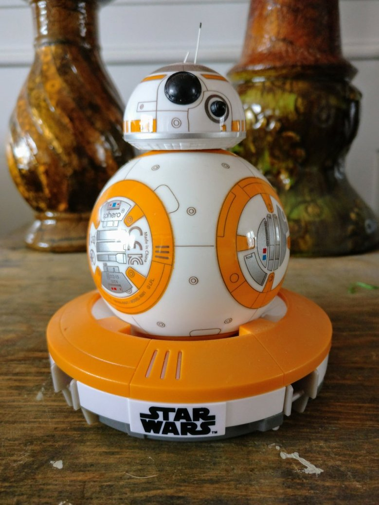 The Force is strong with this tiny droid.