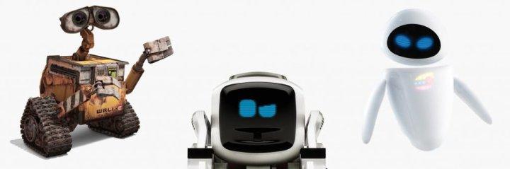 WALL-E - COZMO - EVE