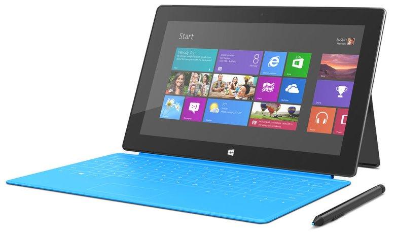 The original Microsoft Surface Pro