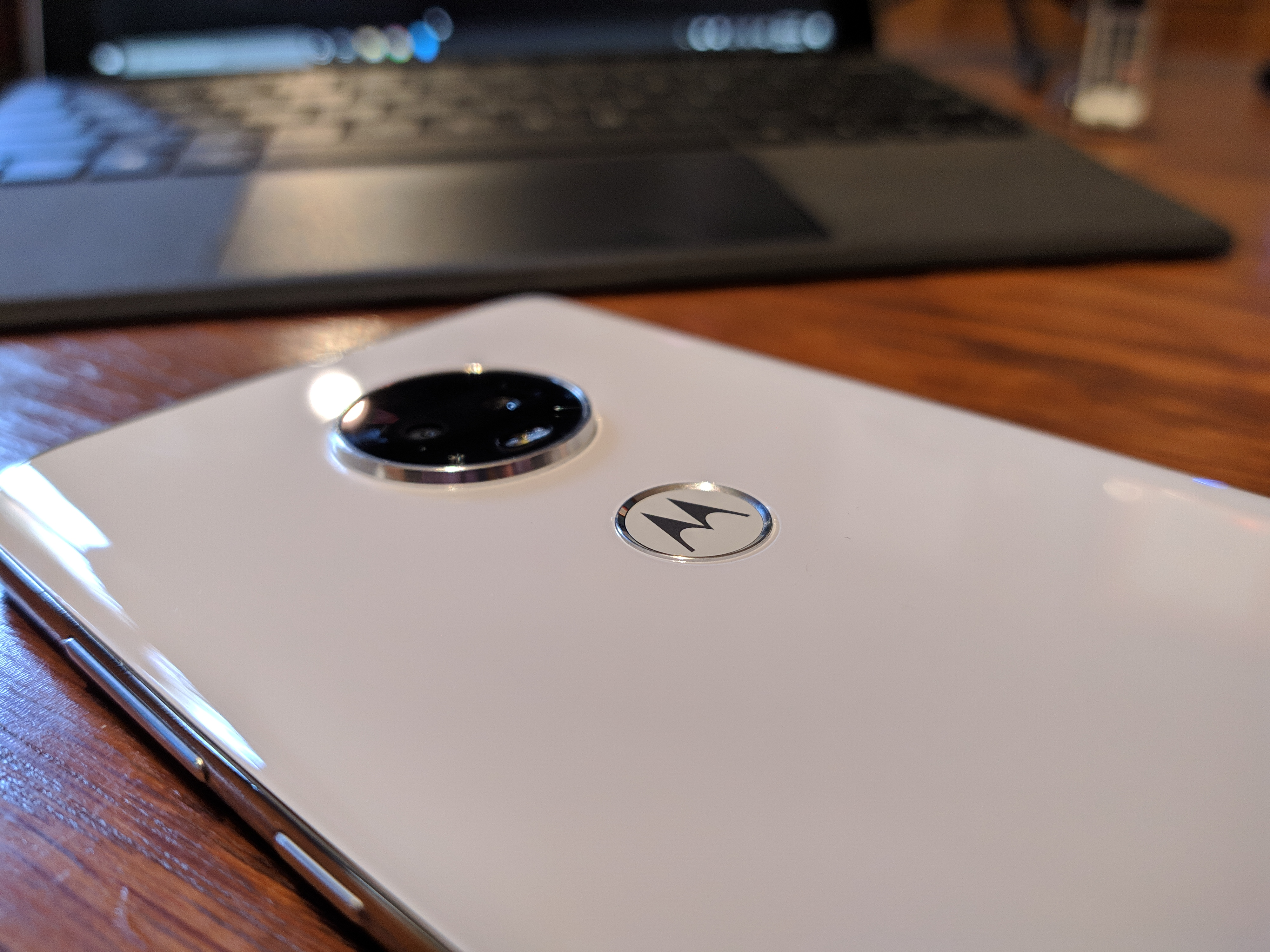 Moto G7 Finger Printer Scanner and Camera